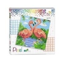 Pixel Set Flamingo's 44002