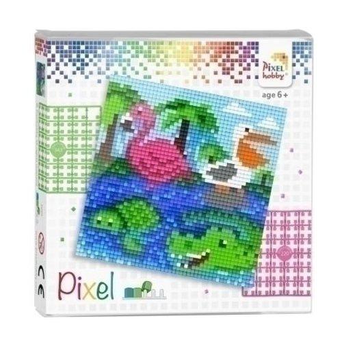 PixelHobby Pixel Set Dieren aan het Water 44003