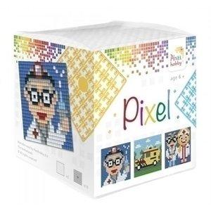 PixelHobby Pixel kubus Ziekenhuis 29010