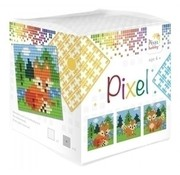 PixelHobby Pixel kubus Vossen 29015