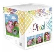 PixelHobby Pixel kubus Varkens 29014