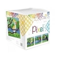 Pixel kubus Tropische vogels 29016