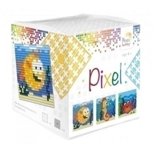 PixelHobby Pixel kubus waterdieren 29002