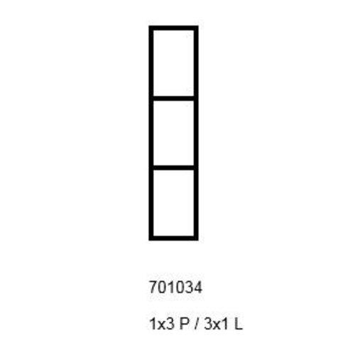 PixelHobby Pixelhobby lijst 1x3p 3x1L