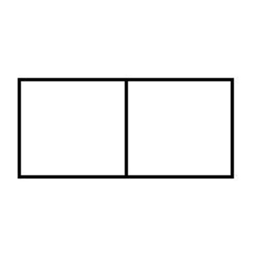 PixelHobby Pixelhobby lijst 1 x 2 P 2 x 1 L
