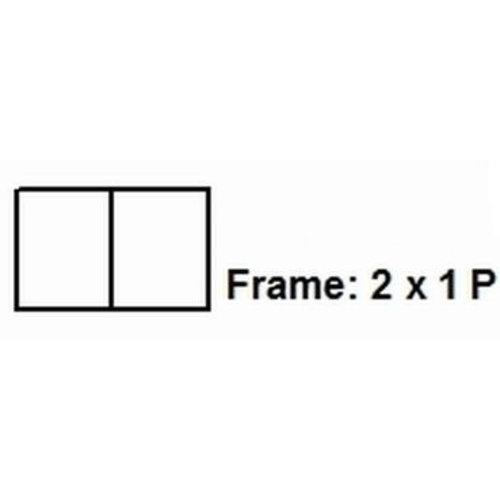 PixelHobby Pixelhobby lijst 2x1P 1x2L