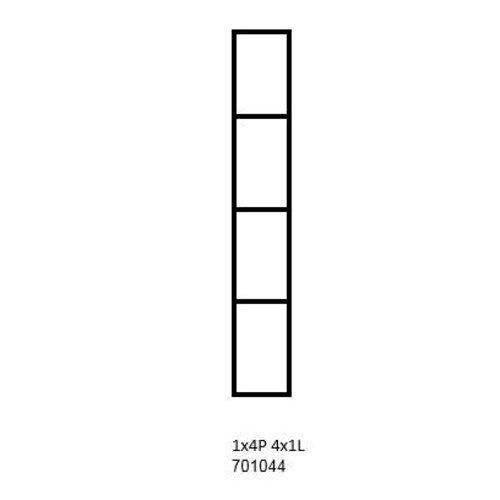 PixelHobby Pixelhobby lijst 1x4P 4x1L