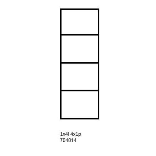 PixelHobby Pixelhobby lijst 1x4L 4x1P