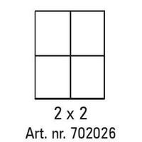 Pixelhobby lijst 2 x 2