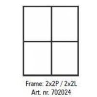 Pixelhobby lijst 2x2P 2x2L