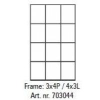 Pixelhobby lijst 3x4P 4x3L