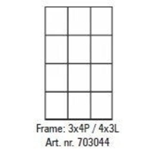 PixelHobby Pixelhobby lijst 3x4P 4x3L