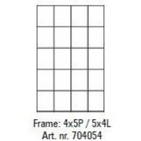 Pixelhobby lijst 4x5P 5x4L