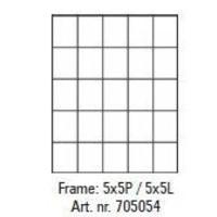 Pixelhobby lijst 5x5P 5x5L