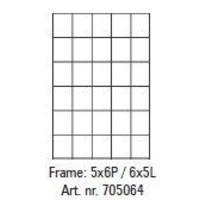 Pixelhobby lijst 5x6P 6x5L
