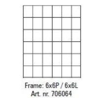 Pixelhobby lijst 6x6P 6x6L
