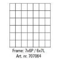 Pixelhobby lijst 7x6P 6x7L