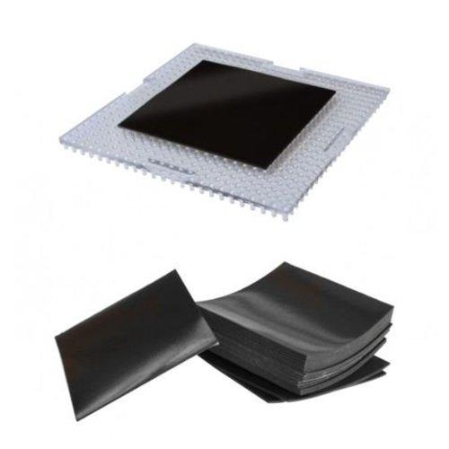 Magneten zelfklevend 4 x 4 cm