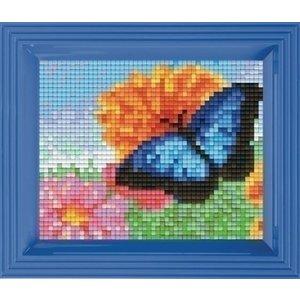PixelHobby Geschenkverpakking Vlinder in bloemenveld 31364