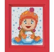 PixelHobby Geschenkverpakking Spelen in de sneeuw 31402