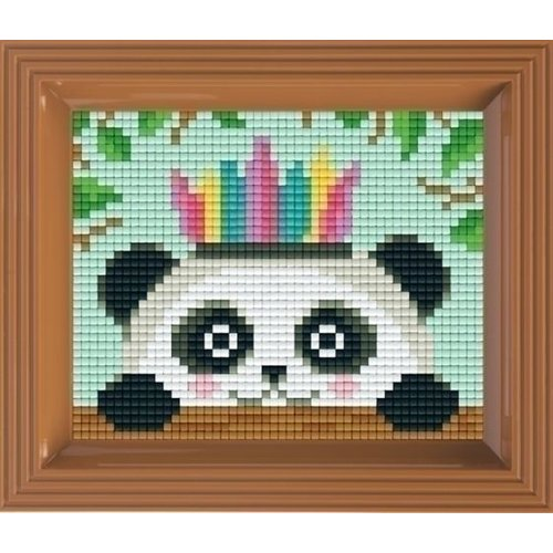 PixelHobby Pixelhobby Geschenkverpakking Pandabeer 31367