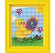 PixelHobby Pixelhobby Geschenkverpakking Paas kuiken 31397
