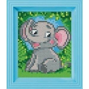 PixelHobby Pixelhobby Geschenkverpakking Olifantje 31356