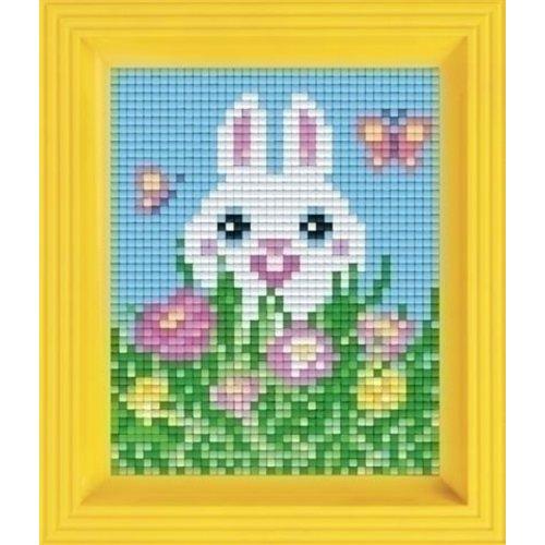 PixelHobby Pixelhobby Geschenkverpakking Konijn lente 31352