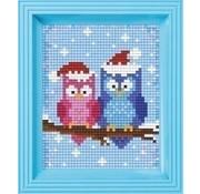 PixelHobby Pixelhobby Geschenkverpakking kerst uiltjes 31418