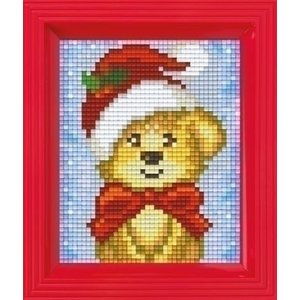 PixelHobby Pixelhobby Geschenkverpakking Kerst Puppy 31421
