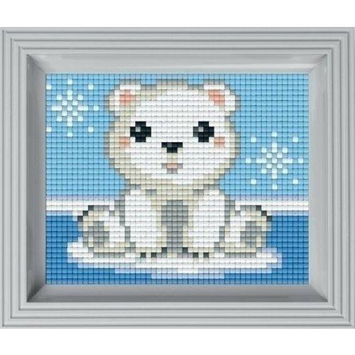 PixelHobby Pixelhobby Geschenkverpakking IJsbeer 31366