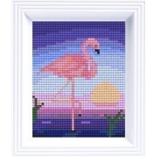 PixelHobby Pixelhobby geschenkverpakking Flamingo 31169