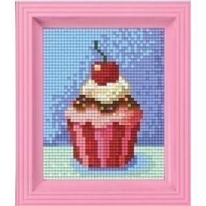 PixelHobby Pixelhobby geschenkverpakking Cupcake 31228