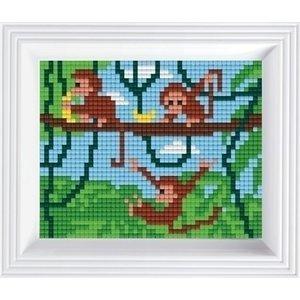 PixelHobby Pixelhobby set Slingerende aapjes 31255
