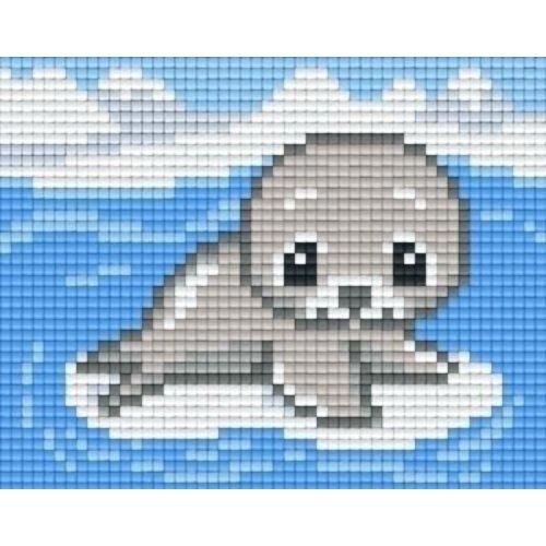 PixelHobby Pixelhobby patroon 801034 Babyzeehondje
