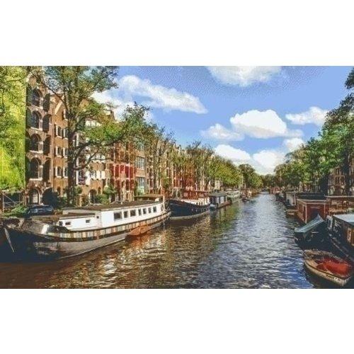 PixelHobby Pixelhobby Patroon 5582 Amsterdamse Gracht