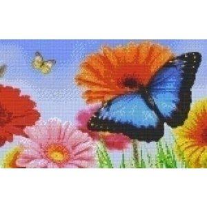 PixelHobby Pixelhobby patroon 808109 Bloemen en Vlinders