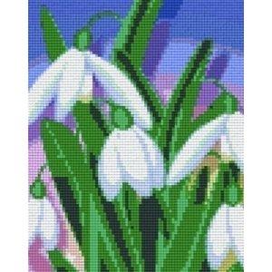 PixelHobby Pixelhobby Patroon 804342 Sneeuwklokjes