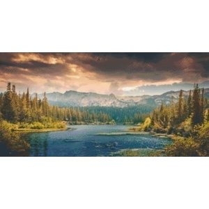 PixelHobby Pixelhobby patroon 5479 Landscape Mountains