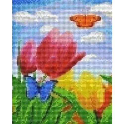 PixelHobby Pixelhobby patroon 804473 Tulpen en Vlinders