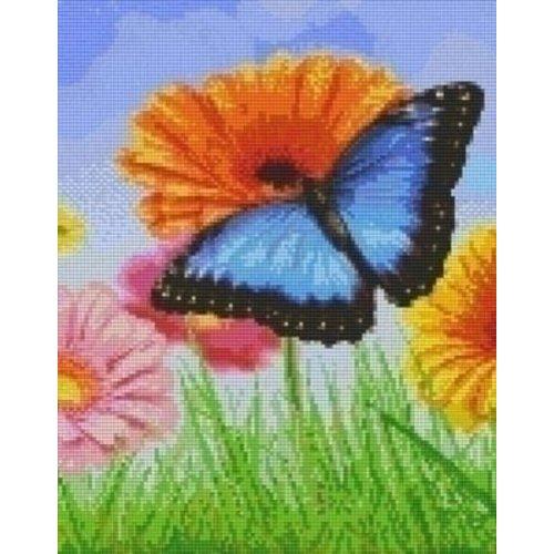 PixelHobby Pixelhobby patroon 809371 Bloemen en vlinder