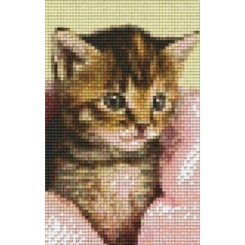 PixelHobby Pixelhobby patroon 802105 Katje met deken