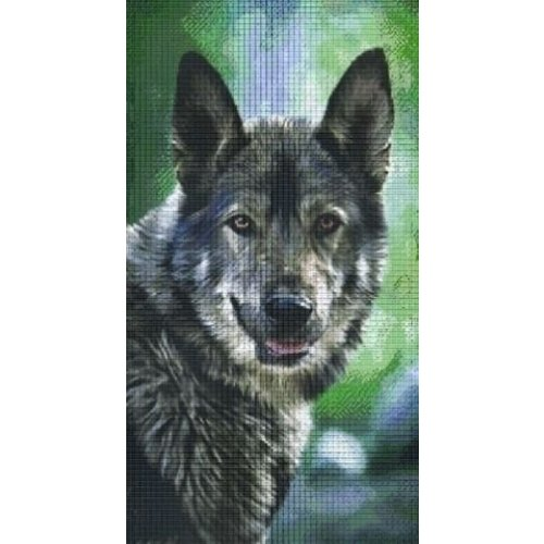 PixelHobby Pixelhobby patroon 824022 Wolf