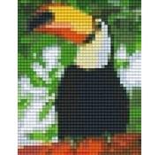 PixelHobby 801317 Pixelhobby patroon 801317 Toekan