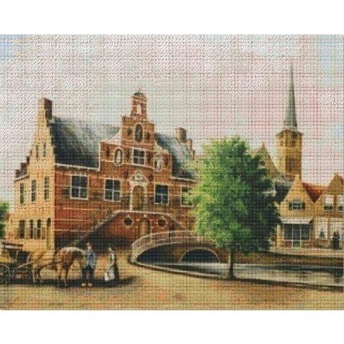 PixelHobby Pixelhobby patroon 836043 Raadhuis Oud Beijerland
