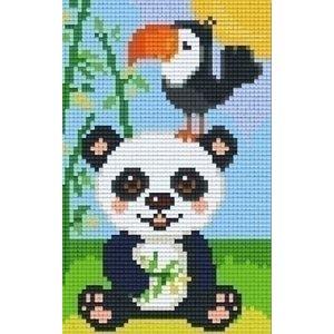 PixelHobby Pixelhobby patroon 802083 Panda met Toekan