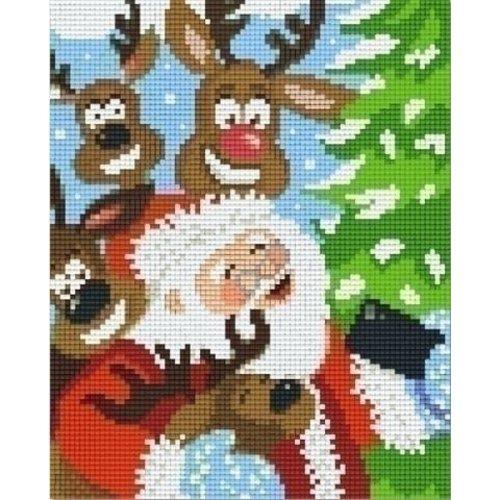 PixelHobby Pixelhobby patroon 804462 Kerst Selfie