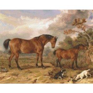 PixelHobby Pixelhobby patroon 5329 Paarden in de Wei
