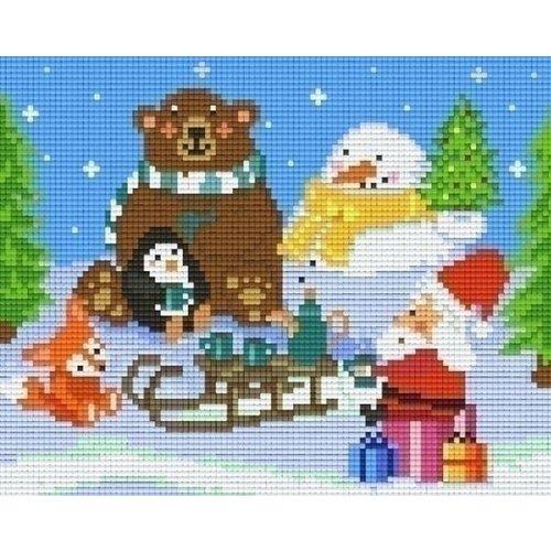 PixelHobby Pixelhobby patroon 804424 Thee Kerst