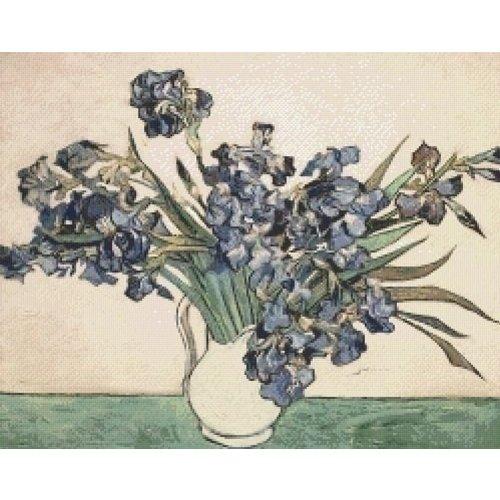 PixelHobby Pixelhobby 825001 Irissen van Vincent van Gogh